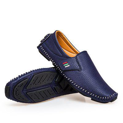 Loafers British Style Casual for MenFlats &amp; Loafers<br>Loafers British Style Casual for Men<br><br>Contents: 1 x Pair of Shoes, 1 x Box, 1 x Dustproof Paper<br>Materials: Leather, Rubber<br>Occasion: Office, Daily, Casual<br>Outsole Material: Rubber<br>Package Size ( L x W x H ): 33.00 x 24.00 x 13.00 cm / 12.99 x 9.45 x 5.12 inches<br>Package weight: 0.8000 kg<br>Product weight: 0.6000 kg<br>Seasons: Autumn,Spring<br>Style: Fashion, Comfortable<br>Type: Casual Shoes<br>Upper Material: Leather