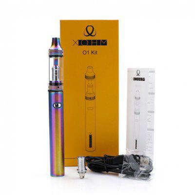 Xohm O1 650mAh Kit for E CigaretteStarter Kits<br>Xohm O1 650mAh Kit for E Cigarette<br><br>Atomizer Type: Clearomizer<br>Battery Capacity: 650mAh<br>Brand: XOHM<br>Connection Threading of Battery: 510<br>Material: Zinc Alloy, Stainless Steel, Glass<br>Mod Type: Mechanical Mod<br>Package Contents: 1 x 650mAh O1 Kit, 1 x Extra 1.6 ohm Coil, 1 x USB Cable, 1 x English User Manual<br>Package size (L x W x H): 16.00 x 6.00 x 3.00 cm / 6.3 x 2.36 x 1.18 inches<br>Package weight: 0.1630 kg<br>Product size (L x W x H): 13.90 x 1.50 x 1.50 cm / 5.47 x 0.59 x 0.59 inches<br>Product weight: 0.1250 kg