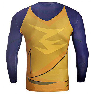 CTSmart JSY007 Color Block Fast Dry Running Teeweight lifting clothes<br>CTSmart JSY007 Color Block Fast Dry Running Tee<br><br>Brand: CTSmart<br>Package Content: 1 x Tee<br>Package size: 26.00 x 20.00 x 1.00 cm / 10.24 x 7.87 x 0.39 inches<br>Package weight: 0.2200 kg<br>Product weight: 0.1800 kg