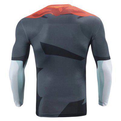 CTSmart JSY005 Male 3D Printing Fast Dry Running TeeWeight Lifting Clothes<br>CTSmart JSY005 Male 3D Printing Fast Dry Running Tee<br><br>Brand: CTSmart<br>Package Content: 1 x Tee<br>Package size: 26.00 x 20.00 x 1.00 cm / 10.24 x 7.87 x 0.39 inches<br>Package weight: 0.2200 kg<br>Product weight: 0.1800 kg