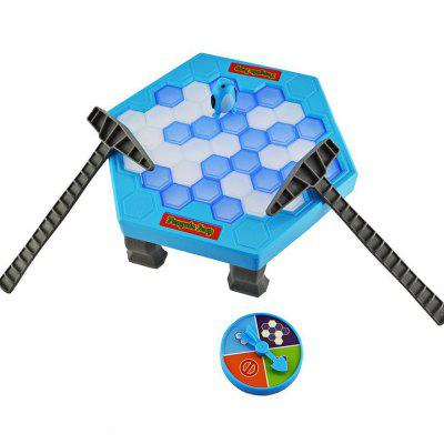 Penguin Trap Interactive Ice Breaker Party Game  -  BLUE