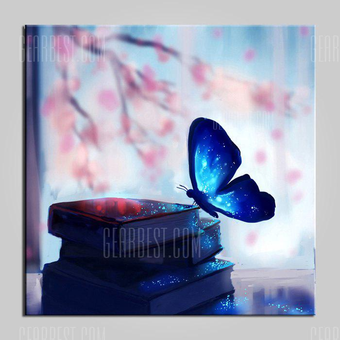 E - HOME Blue Butterfly LED Wall Decoration