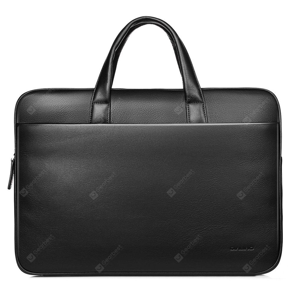 QIALINO 15.4-inch British Style Laptop Protective Bag