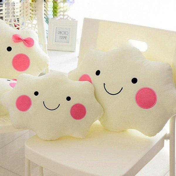 Smile Cloud Pillow Cushion Ornamento Regalo 1 pieza
