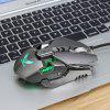 ZERODATE X300GY Wired Gaming Mouse met instelbare DPI - GRIJS