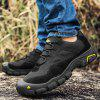 Men Versatile Ventilate Crash-toe Hiking Athletic Shoes - BLACK