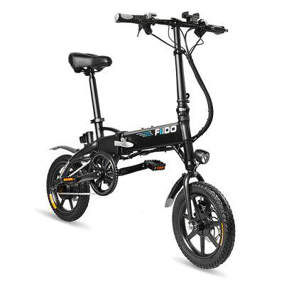 30% OFF - Discount - FIIDO D1 Folding Electric Bike 7.8Ah Battery Moped Bicycle