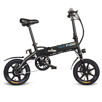 FIIDO D1 Folding Electric Bike 7.8Ah Battery Moped Bicycle встраиваемый светильник feron dl246 17900