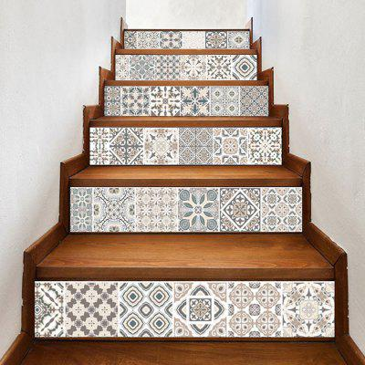 Patrones creativos PVC Stair Sticker Staircase Decal Mural Set