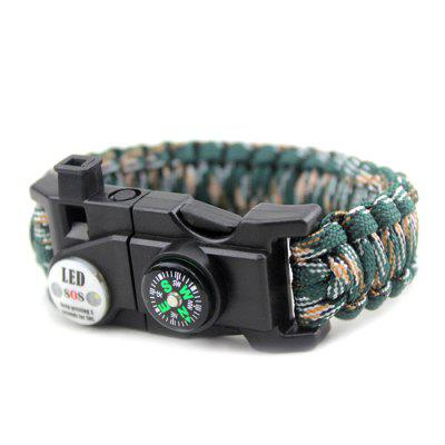 CTSmart 538657 Multifunctional Emergency Survival Bracelet