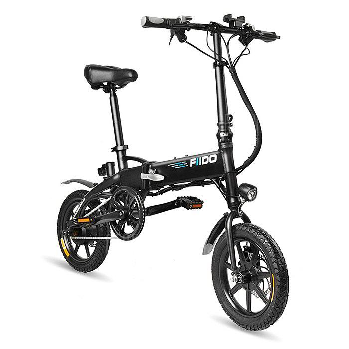 """FIIDO D1 Folding Electric Bike 7.8Ah Battery Moped Bicycle"""