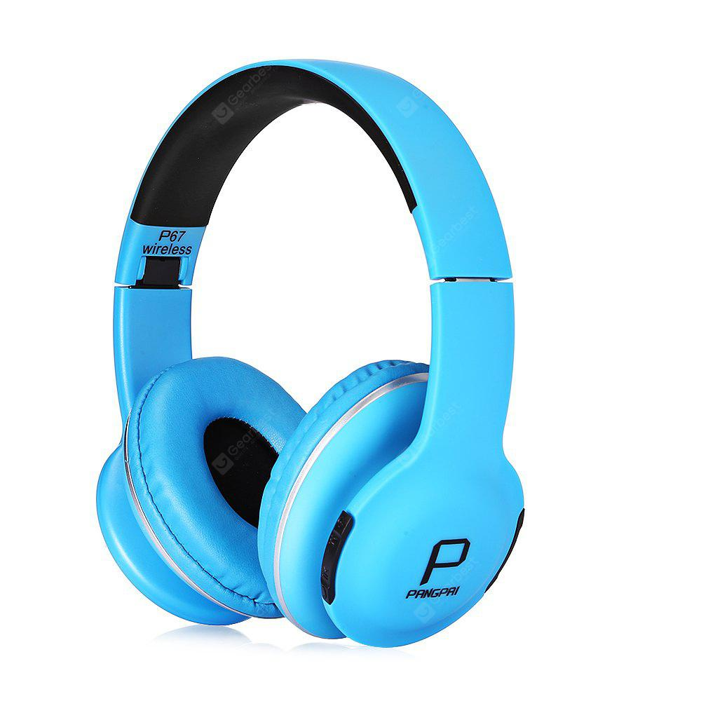 P67 New Style Foldable Wireless Stereo Bluetooth Headset - $15.86 ...