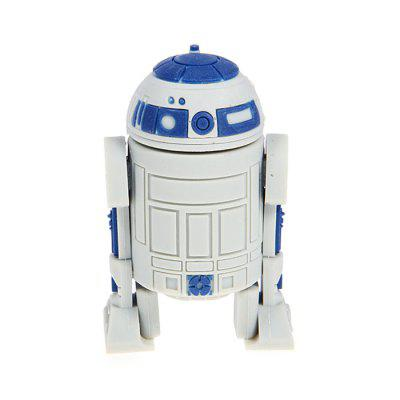 Cartoon Robot USB2.0 Flash Drive U Disk