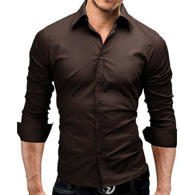 Classic Simple Solid Color Shirt