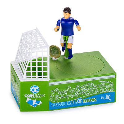 Soccer Shooting Coin Bank Ornament Gift Toy