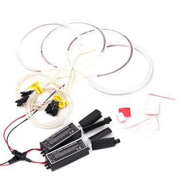 YKT - AB157 CCFL Angel Eyes Halo Rings Kit with Inverter