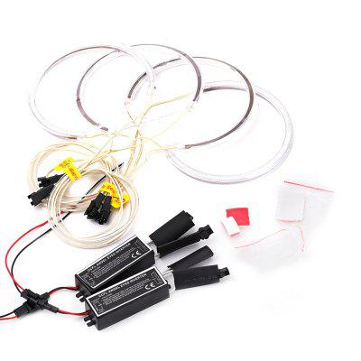 YKT - AB156 CCFL Angel Eyes Halo Rings Kit with Inverter