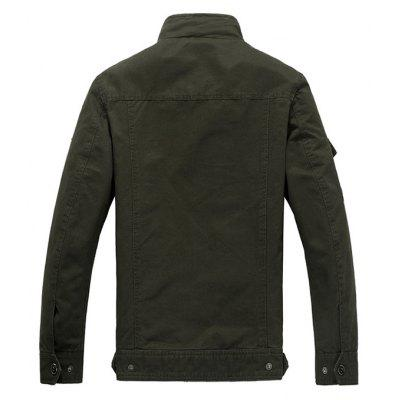 CTSmart Men Jacket with Appliques MotifsMens Jackets &amp; Coats<br>CTSmart Men Jacket with Appliques Motifs<br><br>Brand: CTSmart<br>Closure Type: Zipper<br>Clothes Type: Jackets<br>Collar: Stand Collar<br>Embellishment: Appliques<br>Materials: Cotton, Polyester<br>Occasion: Daily Use<br>Package Content: 1 x Jacket<br>Package Dimension: 40.00 x 30.00 x 1.00 cm / 15.75 x 11.81 x 0.39 inches<br>Package weight: 1.0000 kg<br>Pattern Type: Others<br>Product weight: 0.8000 kg<br>Seasons: Winter<br>Shirt Length: Regular<br>Sleeve Length: Long Sleeves<br>Style: Casual<br>Thickness: Medium thickness