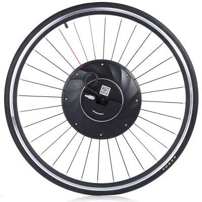 YUNZHILUN iMortor 700C Smart Electric Front Bicycle Wheel  -  BLACK