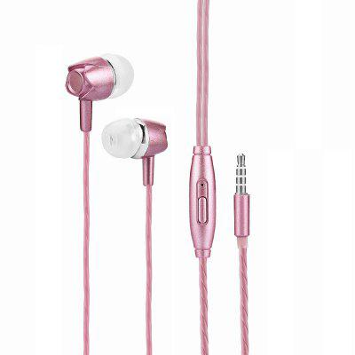 Fashion Universal Wired In-ear Stereo Bass Earphone with Mic