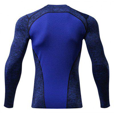 CTSmart Outdoor Quick Dry T-shirtWeight Lifting Clothes<br>CTSmart Outdoor Quick Dry T-shirt<br><br>Brand: CTSmart<br>Material: Polyester, Spandex<br>Package Content: 1 x T-shirt<br>Package size: 26.00 x 20.00 x 1.00 cm / 10.24 x 7.87 x 0.39 inches<br>Package weight: 0.2200 kg<br>Product weight: 0.1800 kg<br>Types: Long Sleeves