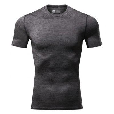 CTSmart Outdoor Dry Dry Round Collar T-shirt