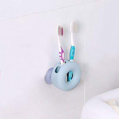 1Pc Creative Double Suction Cup Toothbrush Frame