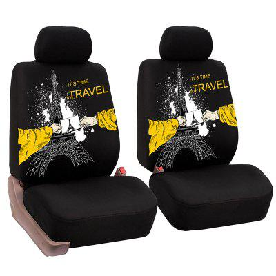 YKT - AB136 Universal Car Seat Cover with Head Rest Case 2pcs