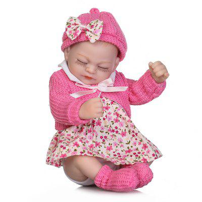 NPK Mini Emulate Reborn Baby Doll Sleep Helper peluche de juguete