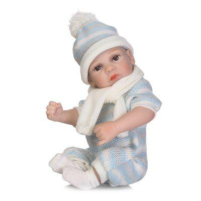 NPK Emulate Reborn Baby Doll Silicone Toy