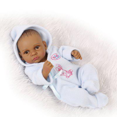 NPK Emulate Reborn Baby Black Skin Doll Sleep Helper Toy