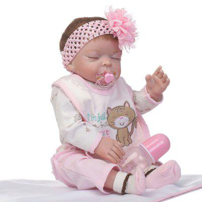 NPK Emulate Reborn Baby Doll Stuffed Sleep Helper Toy