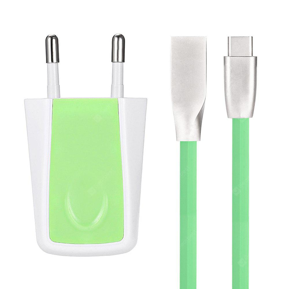 5V 1.2A Fast Charging Charger Type-C Data Cable Kit