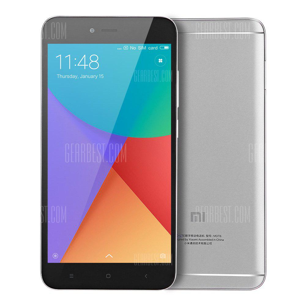 Xiaomi Redmi Note 5A 3GB RAM 4G Phablet Global Version - GRAY  3+32 Go