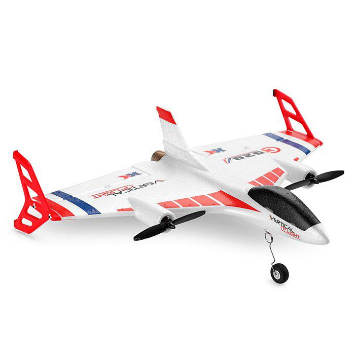 XK X520 Vertical Take-off Landing Delta Wing RC Aircraft - COLORMIX