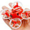 LDARC TINY 6X 65mm Micro FPV RC Drone - RED