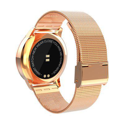 NEWWEAR Q8 Smart WatchSmart Watches<br>NEWWEAR Q8 Smart Watch<br><br>Alert type: Vibration, Vibration<br>Anti-lost: Yes, Yes<br>Band material: Stainless Steel, Stainless Steel<br>Band size: 26 x 2cm, 26 x 2cm<br>Battery  Capacity: 170mAh, 170mAh<br>Bluetooth calling: Phone call reminder, Phone call reminder<br>Bluetooth Version: Bluetooth 4.0, Bluetooth 4.0<br>Brand: Newwear, Newwear<br>Built-in chip type: NRF52832, NRF52832<br>Case material: Alloy, Alloy<br>Charging Time: About 2hours, About 2hours<br>Compatability: Android 4.4 / iOS 9.0 and above systems , Android 4.4 / iOS 9.0 and above systems<br>Compatible OS: IOS, Android, Android, IOS<br>Dial size: 3.9 x 3.9 x 1.01cm, 3.9 x 3.9 x 1.01cm<br>Groups of alarm: 3, 3<br>Health tracker: Blood Oxygen,Blood Pressure,Heart rate monitor,Pedometer,Sleep monitor, Blood Oxygen,Blood Pressure,Heart rate monitor,Pedometer,Sleep monitor<br>IP rating: IP67, IP67<br>Messaging: Message reminder, Message reminder<br>Notification type: QQ, Line, Facebook, Facebook, WhatsApp, QQ, WhatsApp, Wechat, Skype, Skype, Line, Twitter, Twitter, Wechat<br>Operating mode: Touch Key, Touch Key<br>Other Function: Bluetooth, Waterproof, Calendar, Calendar, Bluetooth, Alarm, Alarm, Waterproof<br>Package Contents: 1 x Smart Watch,  1 x USB Charging Cable, 1 x Chinese User Manual, 1 x Smart Watch,  1 x USB Charging Cable, 1 x Chinese User Manual<br>Package size (L x W x H): 15.00 x 7.40 x 3.40 cm / 5.91 x 2.91 x 1.34 inches, 15.00 x 7.40 x 3.40 cm / 5.91 x 2.91 x 1.34 inches<br>Package weight: 0.1450 kg, 0.1450 kg<br>People: Female table,Male table, Female table,Male table<br>Product size (L x W x H): 26.00 x 3.90 x 1.01 cm / 10.24 x 1.54 x 0.4 inches, 26.00 x 3.90 x 1.01 cm / 10.24 x 1.54 x 0.4 inches<br>Product weight: 0.0650 kg, 0.0650 kg<br>RAM: 512MB, 512MB<br>Screen: OLED, OLED<br>Screen resolution: 96 x 64, 96 x 64<br>Screen size: 0.96 inch, 0.96 inch<br>Shape of the dial: Round, Round<br>Standby time: 150 days, 150 days<br>Type of battery: Polymer Lithium Battery, Polymer Lithium Battery<br>Waterproof: Yes, Yes
