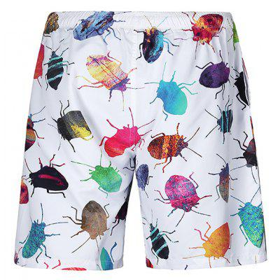 CTSmart Men Beach Shorts with Insects MotifsMens Shorts<br>CTSmart Men Beach Shorts with Insects Motifs<br><br>Brand: CTSmart<br>Material: Cotton, Polyester<br>Package Contents: 1 x Shorts<br>Package size: 26.00 x 20.00 x 1.00 cm / 10.24 x 7.87 x 0.39 inches<br>Package weight: 0.1850 kg<br>Product weight: 0.1700 kg<br>Style: Casual<br>Thickness: Regular
