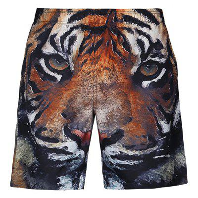 CTSmart Creative Tiger Head Motifs Beach ShortsMens Shorts<br>CTSmart Creative Tiger Head Motifs Beach Shorts<br><br>Brand: CTSmart<br>Material: Cotton, Polyester<br>Package Contents: 1 x Shorts<br>Package size: 26.00 x 26.00 x 1.00 cm / 10.24 x 10.24 x 0.39 inches<br>Package weight: 0.1850 kg<br>Product weight: 0.1700 kg<br>Style: Casual<br>Thickness: Regular