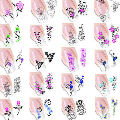 202XF Nail Watermark Sticker