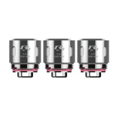 Kanger R8 - OCC coil for VOLA Kit 3PCSAccessories<br>Kanger R8 - OCC coil for VOLA Kit 3PCS<br><br>Brand: Kanger<br>Material: Stainless Steel<br>Package Contents: 3 x Coil<br>Package size (L x W x H): 10.00 x 3.00 x 3.00 cm / 3.94 x 1.18 x 1.18 inches<br>Package weight: 0.0500 kg<br>Product size (L x W x H): 1.80 x 1.50 x 1.50 cm / 0.71 x 0.59 x 0.59 inches<br>Product weight: 0.0100 kg