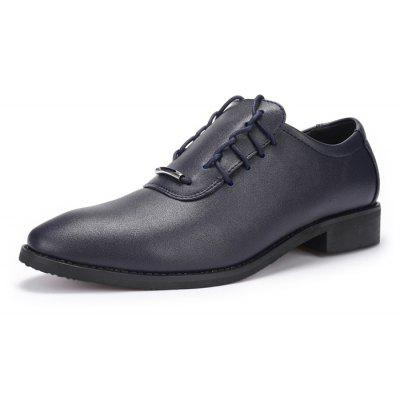 Men Business Lustrous Smooth Fancy-lace Dress ShoesFormal Shoes<br>Men Business Lustrous Smooth Fancy-lace Dress Shoes<br><br>Closure Type: Lace-Up<br>Contents: 1 x Pair of Shoes, 1 x Box<br>Function: Slip Resistant<br>Materials: Rubber, PU<br>Occasion: Tea Party, Office, Formal, Dress, Party, Casual, Daily<br>Outsole Material: Rubber<br>Package Size ( L x W x H ): 30.00 x 20.00 x 10.00 cm / 11.81 x 7.87 x 3.94 inches<br>Package weight: 0.8500 kg<br>Pattern Type: Solid<br>Product weight: 0.8000 kg<br>Seasons: Autumn,Spring<br>Style: Modern, Leisure, Formal, Fashion, Comfortable, Casual, Business<br>Toe Shape: Pointed Toe<br>Type: Casual Leather Shoes<br>Upper Material: PU