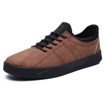 Men Vintage Soft Anti-slip Casual Sporty Skateboarding ShoesCasual Shoes<br>Men Vintage Soft Anti-slip Casual Sporty Skateboarding Shoes<br><br>Closure Type: Lace-Up<br>Features: Anti-slip, Breathable, Durable, Sweat-absorbing<br>Gender: Men<br>Highlights: Sweat Absorbing, Soft, Breathable<br>Package Contents: 1 x Pair of Shoes, 1 x Box<br>Package size: 30.00 x 20.00 x 10.00 cm / 11.81 x 7.87 x 3.94 inches<br>Package weight: 0.7500 kg<br>Product weight: 0.7000 kg<br>Season: Spring, Autumn<br>Sole Material: Rubber<br>Type: Skateboarding Shoes
