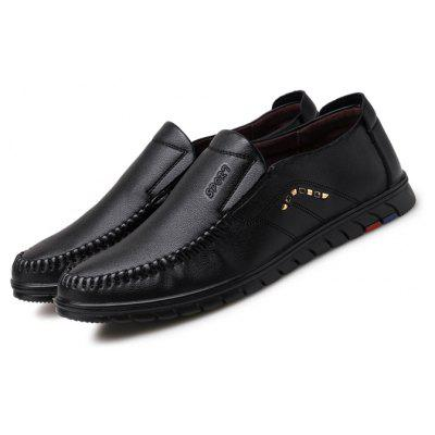 Men Casual Well-matched Soft Driving Flat Oxford Shoes