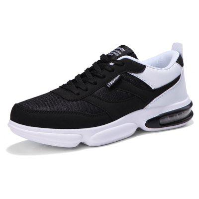 Male Breathable Lightweight Anti-slip Running SneakersMen's Sneakers<br>Male Breathable Lightweight Anti-slip Running Sneakers<br><br>Closure Type: Lace-Up<br>Contents: 1 x Pair of Shoes, 1 x Box<br>Function: Slip Resistant<br>Materials: Rubber, Mesh<br>Occasion: Casual, Riding, Running<br>Outsole Material: Rubber<br>Package Size ( L x W x H ): 30.00 x 20.00 x 10.00 cm / 11.81 x 7.87 x 3.94 inches<br>Package weight: 0.7500 kg<br>Pattern Type: Solid<br>Product weight: 0.7000 kg<br>Seasons: Autumn,Spring<br>Style: Leisure, Comfortable, Casual<br>Toe Shape: Round Toe<br>Type: Sports Shoes<br>Upper Material: Mesh