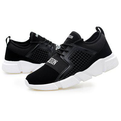 Male Outdoor Versatile Lightweight Anti-slip Running SneakersMen's Sneakers<br>Male Outdoor Versatile Lightweight Anti-slip Running Sneakers<br><br>Closure Type: Lace-Up<br>Contents: 1 x Pair of Shoes, 1 x Box<br>Function: Slip Resistant<br>Lining Material: Mesh<br>Materials: Rubber, Mesh, PU<br>Occasion: Sports, Running, Riding, Casual<br>Outsole Material: Rubber<br>Package Size ( L x W x H ): 30.00 x 20.00 x 10.00 cm / 11.81 x 7.87 x 3.94 inches<br>Package weight: 0.8000 kg<br>Pattern Type: Solid<br>Product weight: 0.7500 kg<br>Seasons: Autumn,Spring<br>Style: Leisure, Casual<br>Toe Shape: Round Toe<br>Type: Sports Shoes<br>Upper Material: PU