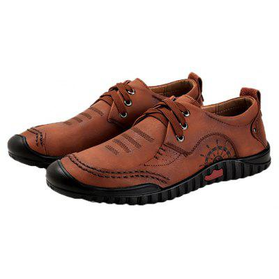 Men Versatile Soft Lightweight Hiking Casual Oxford Shoes
