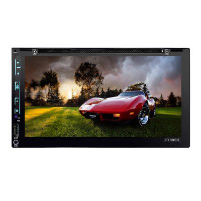 6303 6.95 inch Touch Screen Universal Car DVD Player