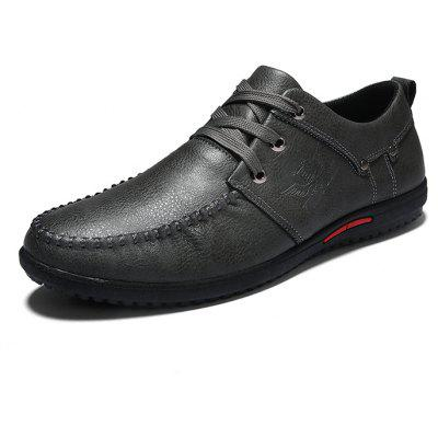 Men Trendy Soft Manual Stitches Casual Oxford ShoesMen's Oxford<br>Men Trendy Soft Manual Stitches Casual Oxford Shoes<br><br>Closure Type: Lace-Up<br>Contents: 1 x Pair of Shoes, 1 x Box<br>Function: Slip Resistant<br>Materials: Rubber, PU<br>Occasion: Tea Party, Party, Office, Holiday, Shopping, Casual, Daily<br>Outsole Material: Rubber<br>Package Size ( L x W x H ): 30.00 x 20.00 x 10.00 cm / 11.81 x 7.87 x 3.94 inches<br>Package weight: 0.6500 kg<br>Pattern Type: Solid<br>Product weight: 0.6000 kg<br>Seasons: Autumn,Spring<br>Style: Modern, Leisure, Fashion, Comfortable, Casual, Business<br>Toe Shape: Round Toe<br>Type: Casual Leather Shoes<br>Upper Material: PU