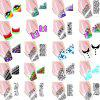 Water-resistant Transfer Nails Stickers Tattoo Decal Set - COLORMIX